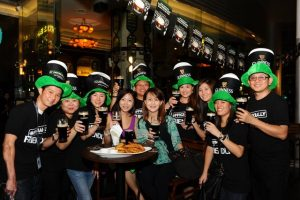 Guinness i saint patricks day